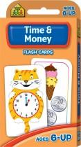 School Zone Flash Cards Time & Money