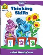 School Zone Thinking Skills Get Ready Book