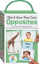 Building Blocks Slide & Learn Flash Cards Opposites