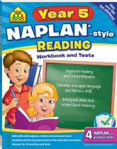 School Zone Year 5 Reading NAPLAN*-style Workbook and Tests