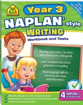 School Zone Year 3 Reading NAPLAN*-style Workbook and Tests
