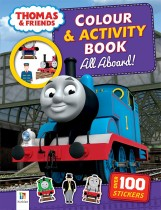 Thomas and Friends Colour and Activity Book: All Aboard