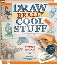 Draw Really Cool Stuff Binder