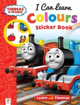 Thomas and Friends I Can Learn Colours Sticker Book