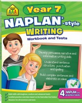 School Zone Year 7 Writing NAPLAN*-style Workbook and Tests