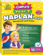 School Zone Complete Year 7 NAPLAN*-style Workbook and Tests