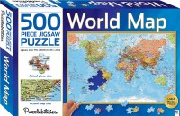 World Map 500 Piece Jigsaw Puzzle