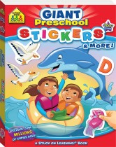 School Zone Giant Preschool Stickers and More!