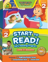 School Zone Start to Read! Level 2 Readers