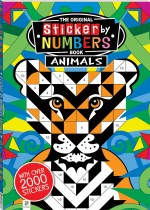 Michael O'Mara Sticker by Numbers Animals