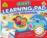 School Zone Giant Learning Pad: Preschool