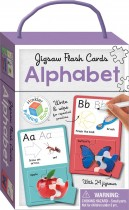 Alphabet Building Blocks Jigsaw Flash Cards