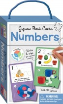Numbers Building Blocks Jigsaw Flash Cards