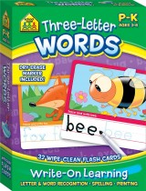 School Zone Interactive Flash Cards: Three-Letter Words