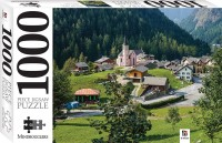 Town of Trient, Switzerland 1000 Piece Jigsaw