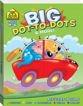School Zone Giant Dot-to-Dots Workbook