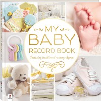 Baby Record Book Yellow