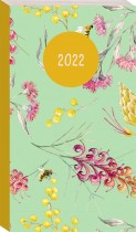 2022 Slimline Diary: Sage Native Floral