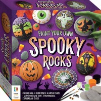 Paint Your Own Spooky Rocks