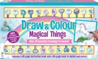 Draw and Colour Magical Things 24-Pencil Set