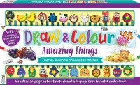 Draw and Colour Amazing Things 24-Pencil Set