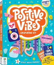 Mindful Me Positive Vibes Colouring Kit