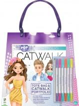 Pop Fashion Catwalk Tote Bag
