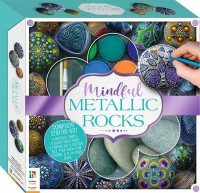 Deluxe Mindful Metallic Rock Painting Kit