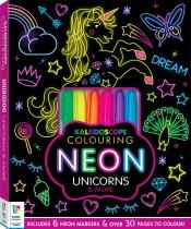 Kaleidoscope Colouring Kits: Neon Unicorns and More