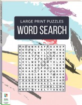 Large Print Puzzles: Word Search