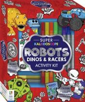 Super Kaleidoscope Activity Kit: Robots, Dinos and Racers