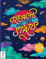 Pop Sparkle: Reach for the Stars Colouring Book