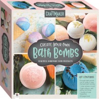CraftMaker Create Your Own Bath Bombs Kit