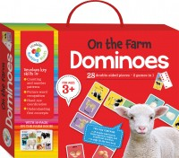 On the Farm Building Blocks Dominoes