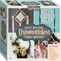 CraftMaker Create Your Own Dreamcatchers & Wall Hangings Kit