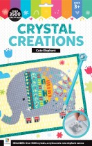 Crystal Creations Canvas Cute Elephant (Hang Sell)