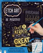 Etch Art Mini Kit: Be Positive!