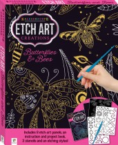 Etch Art Mini Kit: Butterflies and Bees