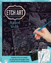 Etch Art Mini Kit: Mythical Worlds