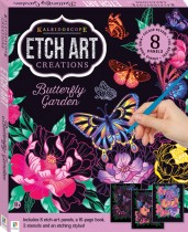 Kaleidoscope Etch Art Mini Kit: Butterfly Garden