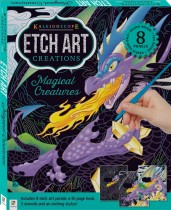 Kaleidoscope Etch Art Mini Kit: Magical Creatures