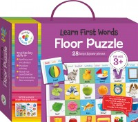 Learn First Words Building Blocks Floor Puzzles