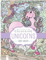 Kaleidoscope Pastel Colouring Book: Unicorns and More