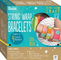 Kids Who Craft: String Wrap Bracelets