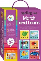 Spelling Fun Building Blocks Match and Learn Cards