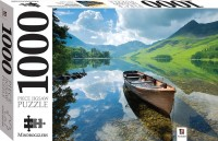 Boat on Lake Buttermere, England 1000 piece jigsaw