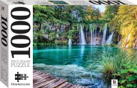 Pilirvice Lake and Waterfalls, Croatia 1000 piece jigsaw
