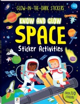 Know and Glow: Space Sticker Activities