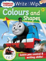 Thomas Write & Wipe: Colours and Shapes