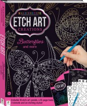 Kaleidoscope Etch Art Creations: Butterflies and More
